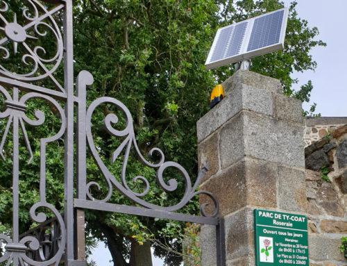 Automatisation porte de cimetière